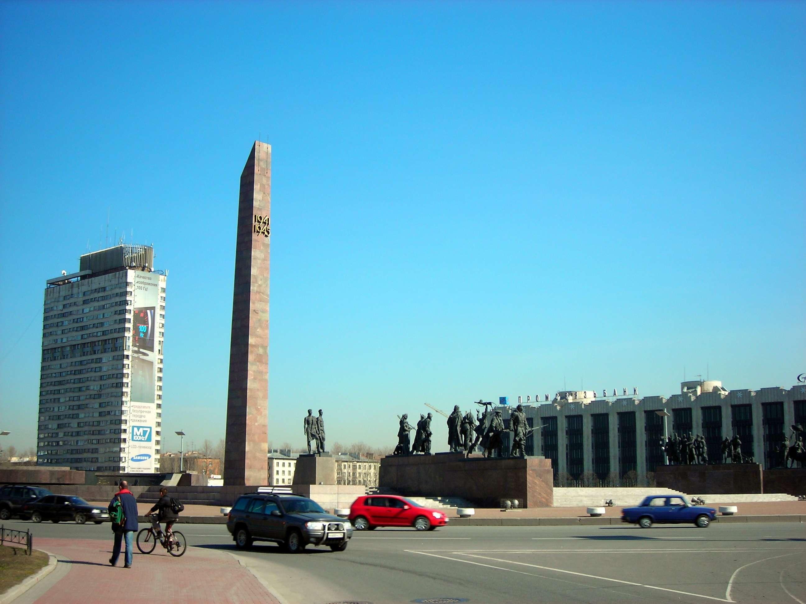 圣彼得堡胜利广场